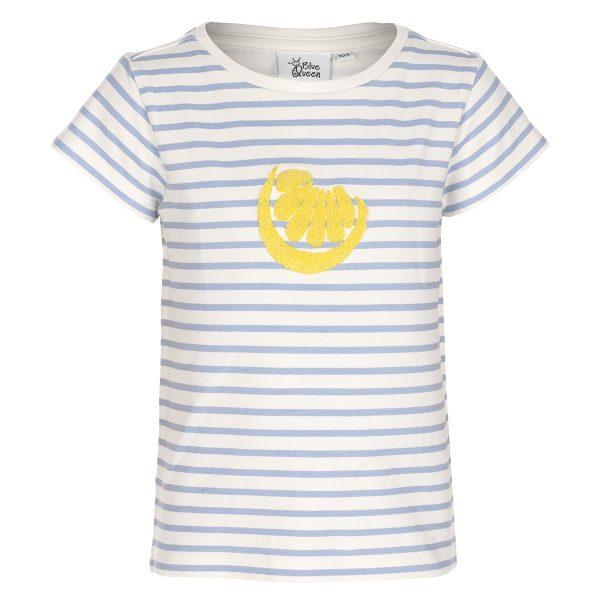 T-shirt Blue Queen